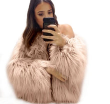 Women Winter Stylish and Trendy Fur Coat - Bella LaVie Collection