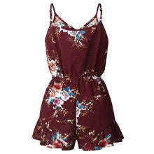 Bohemian Style  Floral Print Rompers - Bella LaVie Collection