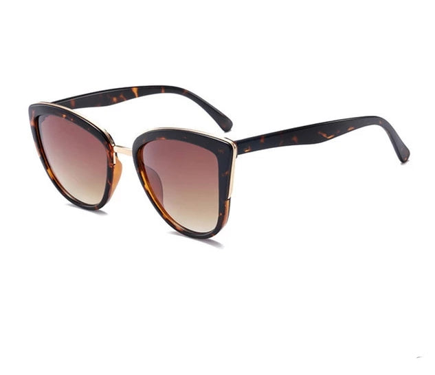 Cateye Gradient Retro Cat-Eye Sunglasses - Bella LaVie Collection