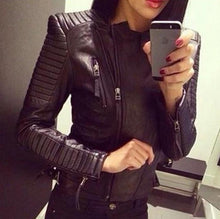 Black Slim Moto Jacket