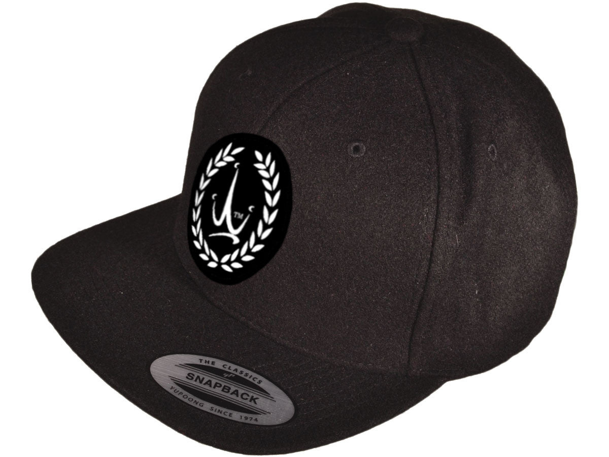 Krown Jewelz logo black snapback