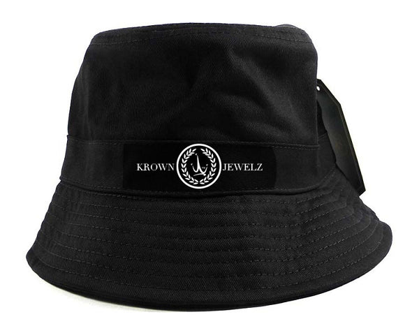 Black Krown Jewelz Logo Bucket Hat