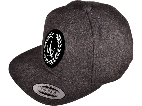 Krown Jewelz Logo Dark Grey Snapback