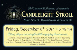 Weaverville's Annual Candlelight Stroll