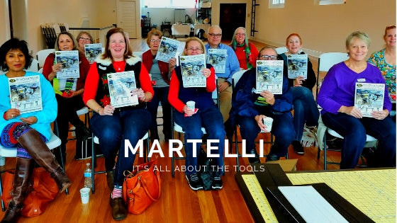 Martelli: It's All About the Tools
