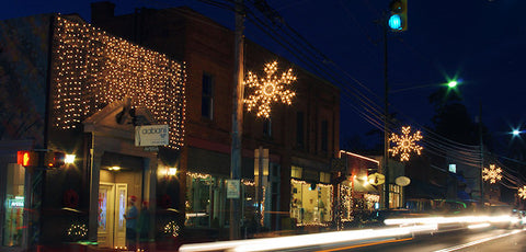 Weaverville NC Candlelight stroll