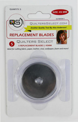 45 mm Rotary Cutter Blades 5 Pack