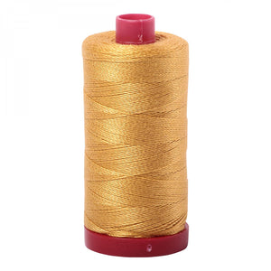 Aurifil 12 wt Thread Tarnished Gold