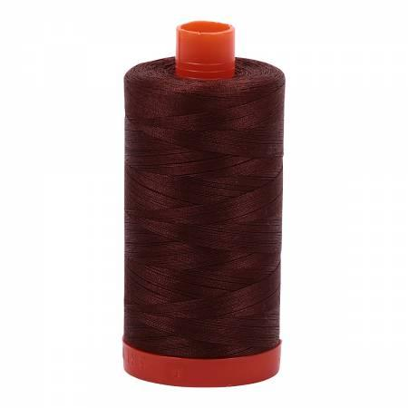 Aurifil 50 wt Chocolate Brown