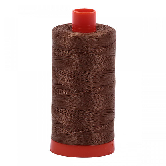 Aurifil 50 wt Dark Antique Gold