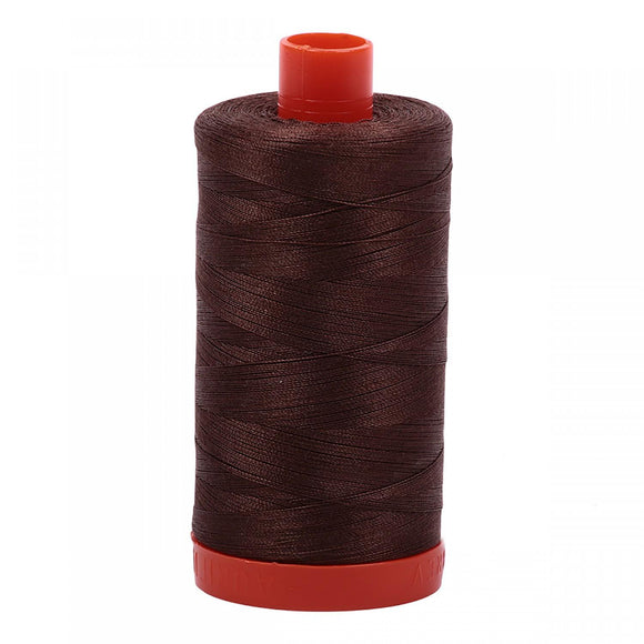Aurifil 50 wt Medium Bark