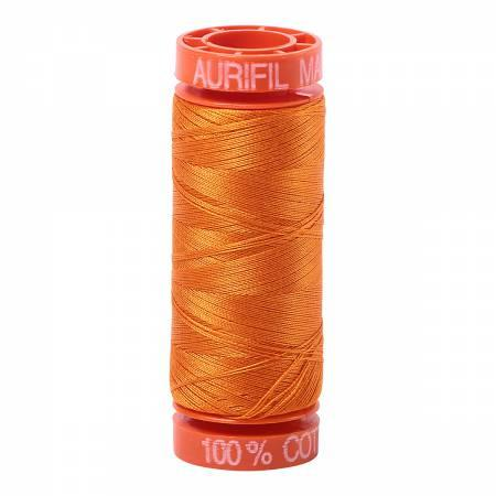 Aurifil 50 wt Thread Bright Orange