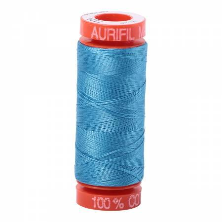 Aurifil 50 wt Thread Bright Teal