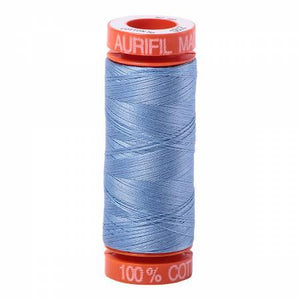 Aurifil 50 wt Thread Light Delft Blue