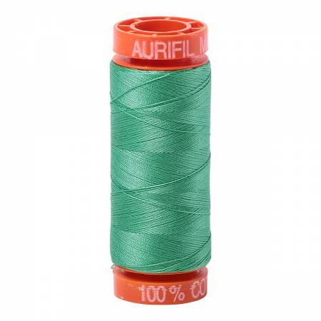 Aurifil 50 wt Thread Light Emerald