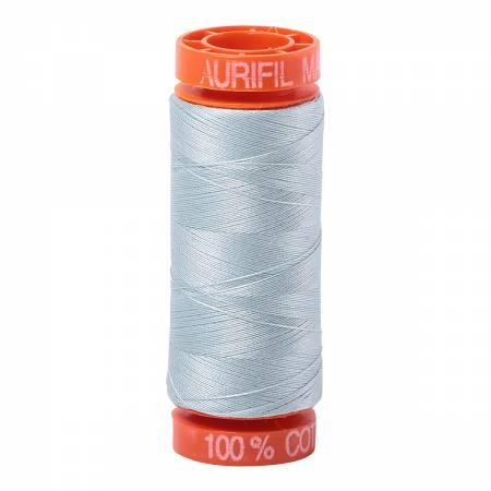 Aurifil 50 wt Thread Light Grey Blue