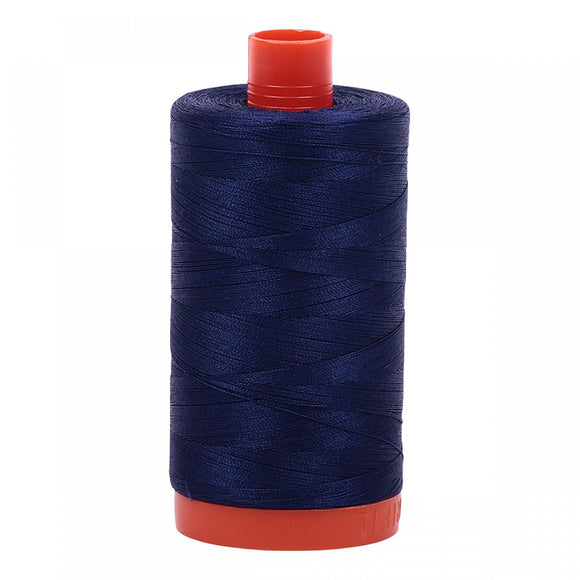 Aurifil 50 wt Thread Midnight