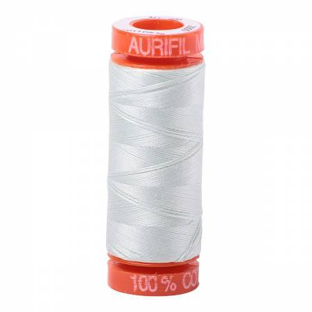 Aurifil 50 wt Thread Mint Ice