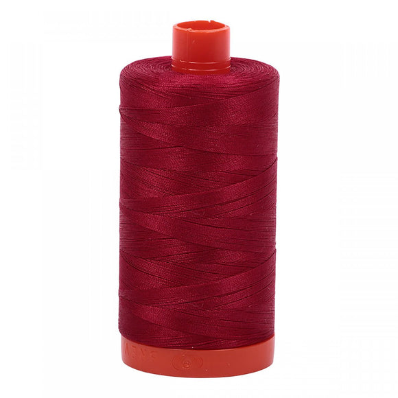 Aurifil 50 wt Thread Red Wine
