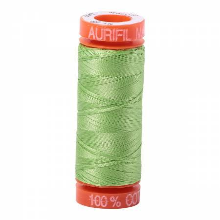 Aurifil 50 wt Thread Shining Green