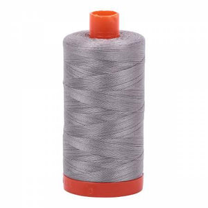 Aurifil 50 wt Thread Stainless Steel