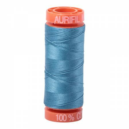 Aurifil 50 wt Thread Teal