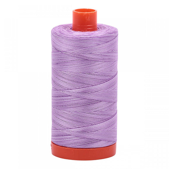 Aurifil 50 wt Variegated French Lilac