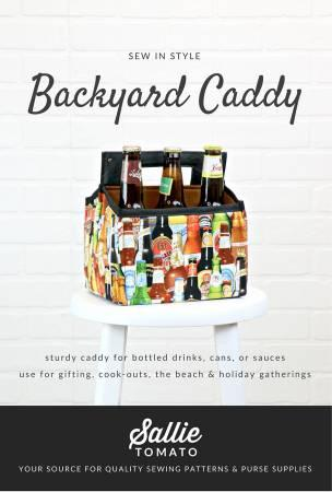 Backyard Beverage Caddy Pattern
