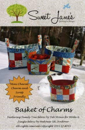 Basket of Charms Pattern