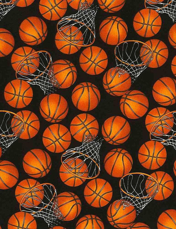 Basketballs and Hoops