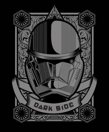 Black Star Wars Dark Side Panel