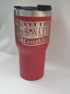 Branded Cup Red