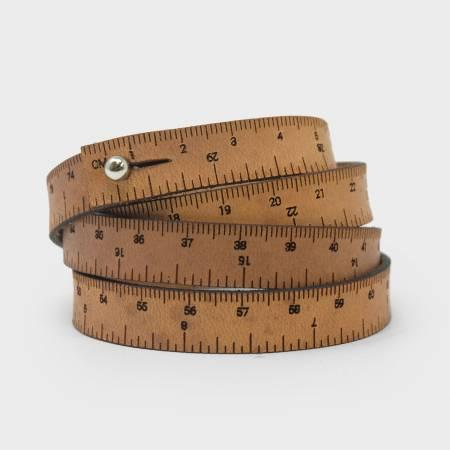 Brown Wrist Ruler 30