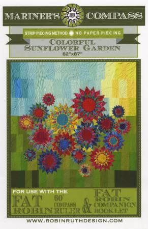 Colorful Sunflower Garden Pattern