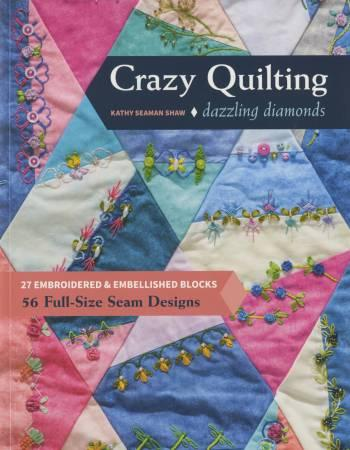 Dazzling Diamond Crazy Quilting