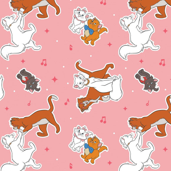 Disney's Aristocats Toss on Pink