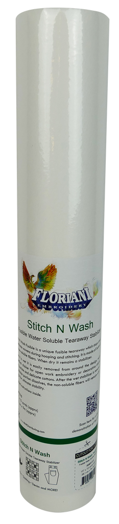 Floriani Stitch N Wash Fusible 15