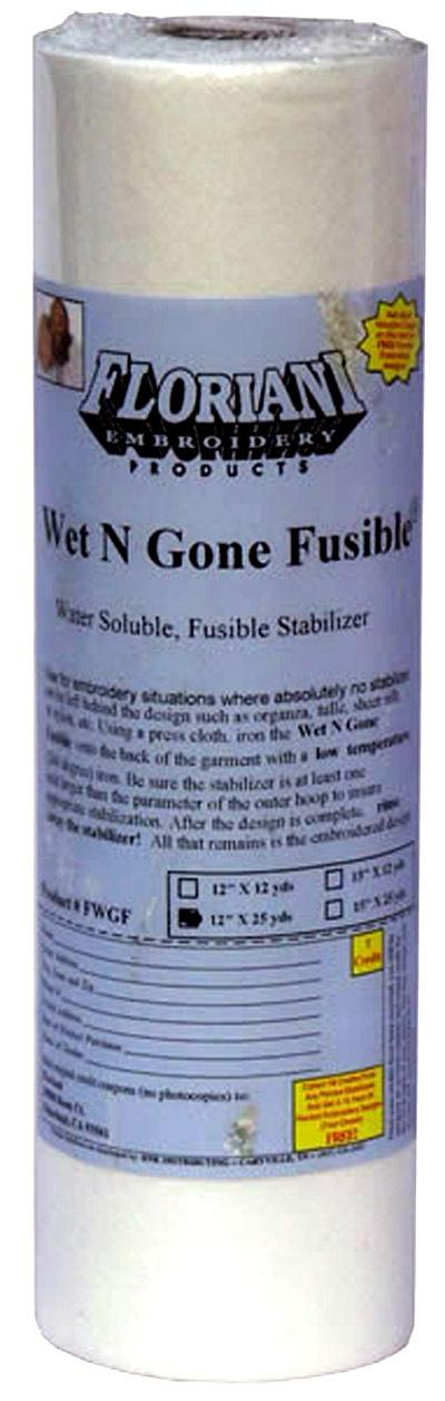 Floriani Wet N Gone Fusible 12