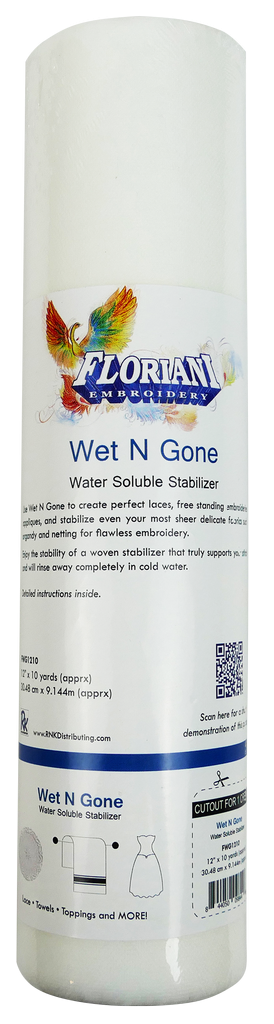 Floriani Wet N Gone Fusible 9