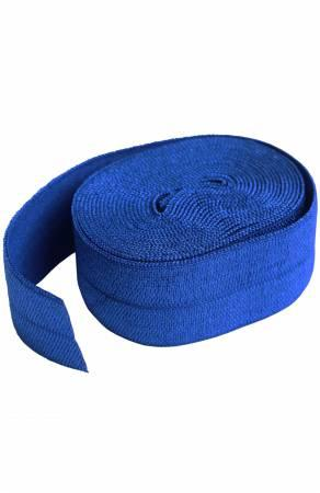 Fold Over Elastic Blastoff Blue 2 yds