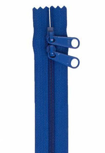 "Handbag Zipper 30"" Blastoff Blue"