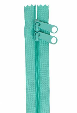 Handbag Zipper 40in Double Slide Turquoise
