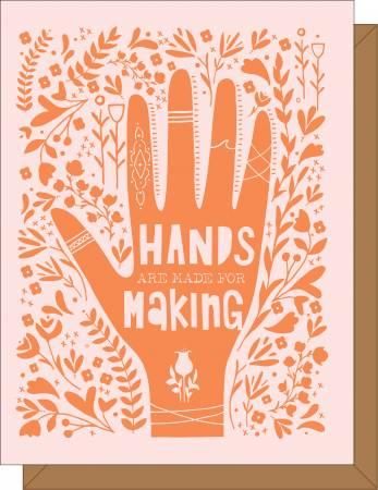 Hands are Made for Making Gift Card