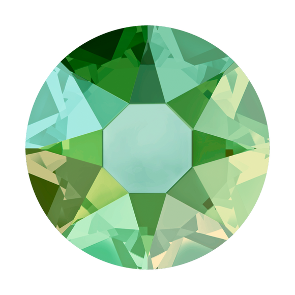 Hot Fix Crystal Peridot 4mm