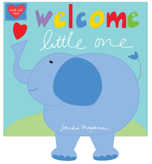 Hug & Love Welcome Little One Book Panel