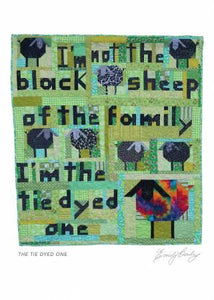 I'm Not The Black Sheep Greeting Card