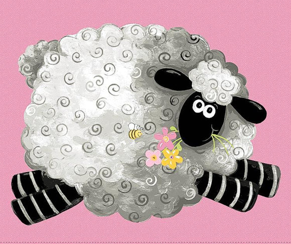 Lal the Lamb Quilt Panel