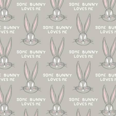Light Grey Looney Tunes Bugs Bunny