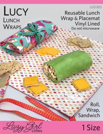 Lucy Lunch Wrap Pattern
