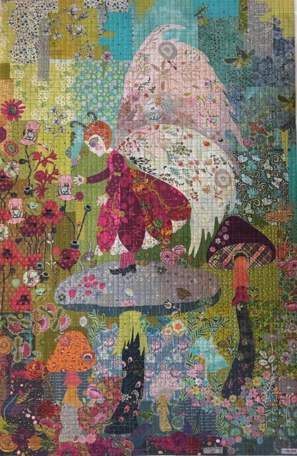 Meadow Cottage Collage Pattern